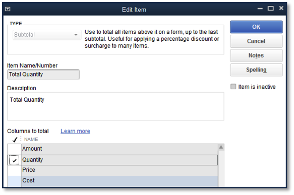 quickbooks 2015 customize your transactions